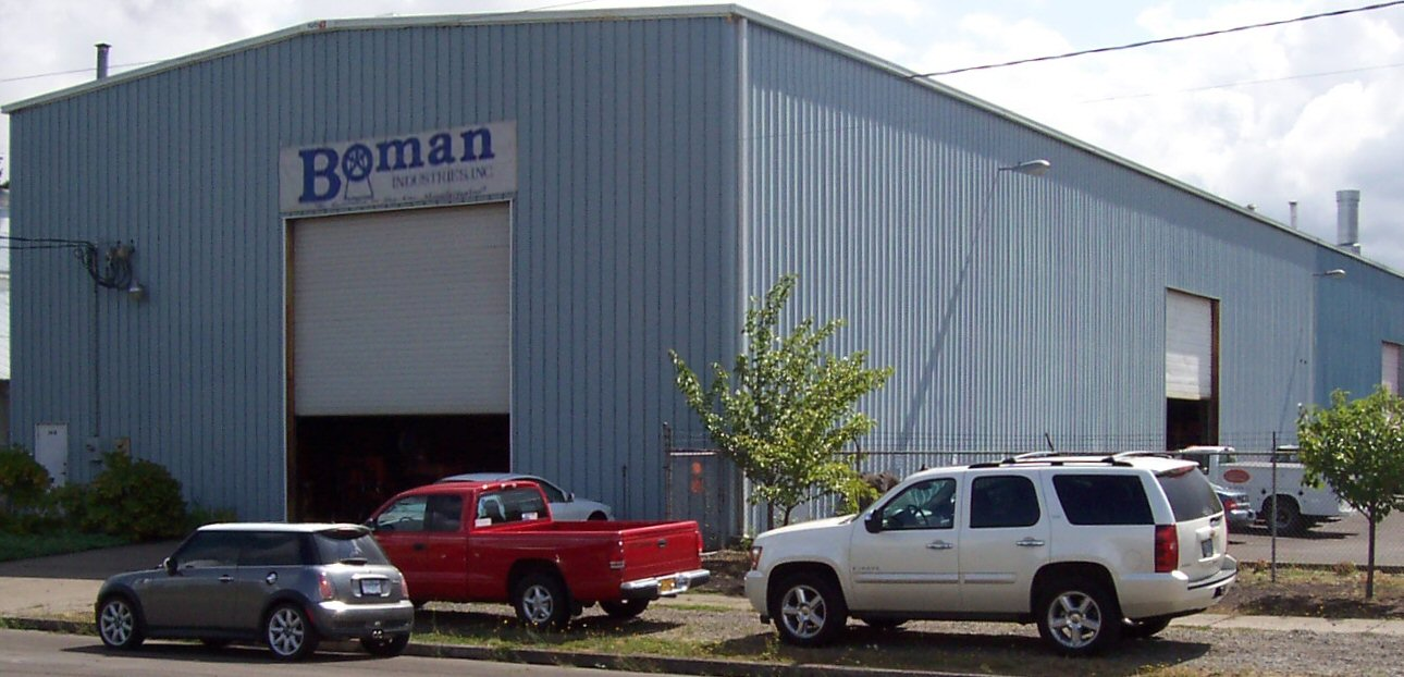 Boman Industries Inc Building